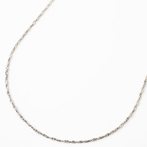 純プラチナ スライド ネックレス  ミニミント 2.2g 45cm 3778-PW18