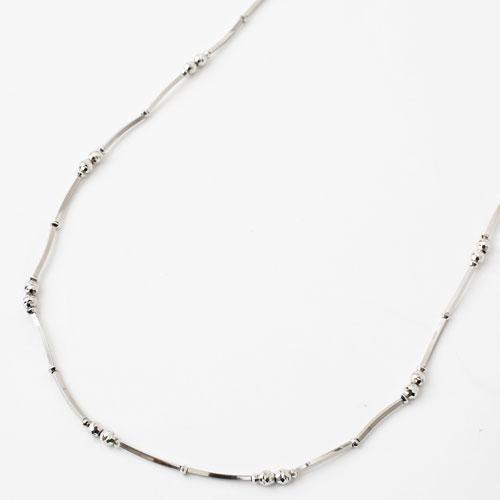 プラチナ850 ロングネックレス 80cm 10g ミラクルスティック 3779-NM18