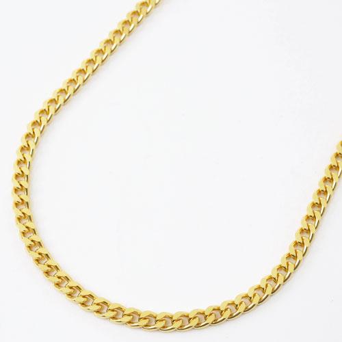 純金 喜平 2面カット ネックレス 50cm 30g 検定刻印 3797-PW18