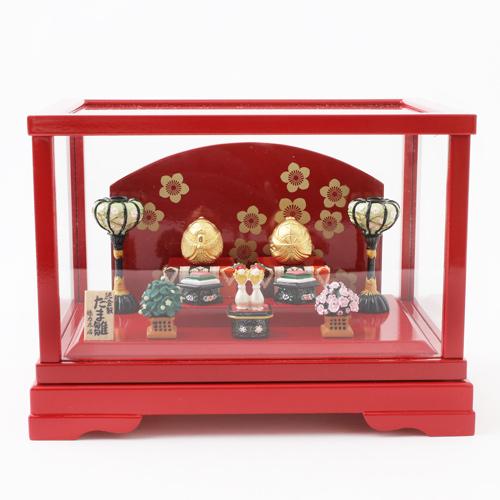 受注生産 純金 たま雛 置物 地金 7g 徳力本店 3995-TH19