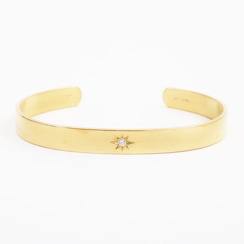 純金 バングル K24 ダイヤモンド 29g 男女兼用 4076-PW19