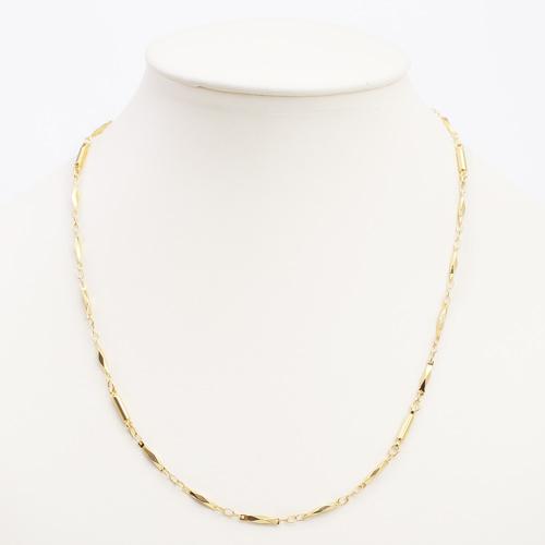 真鍮 ロジウム ゴールド仕上げ ネックレス デラックス切子 磁気 マグネット 4084-YA19