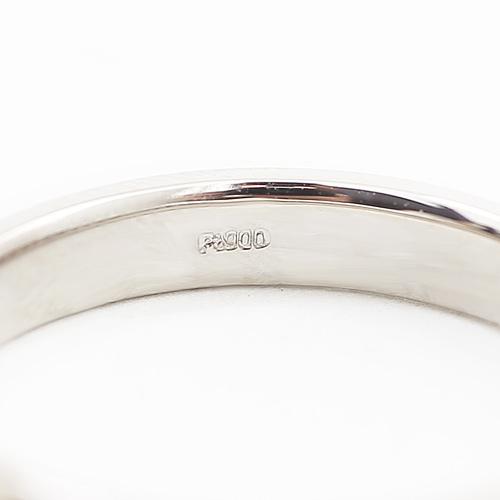 純プラチナ リング ホースコイン リング エリザベス 1/25オンス ツバル製 4086-HG19