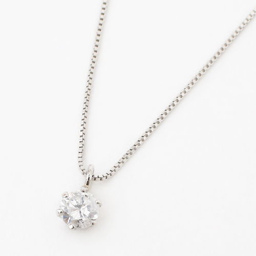日本製 ペンダント プラチナ ダイヤモンド ベネチアンチェーン 4118-HG19