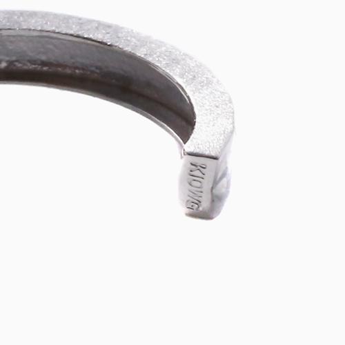 18金 ゴールド ホワイトゴールド ピアリング イヤーカフ ダイヤモンドカット 4215-UK20