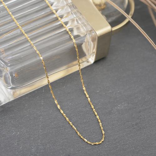 純金 K24 ネックレス スライド式 スプレンデレ・ミント・ネックレス  4298-JK20