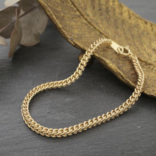 イタリア製 18金 K18 喜平 キヘイ  ゴールド   ブレスレット 18cm 4342-MS20