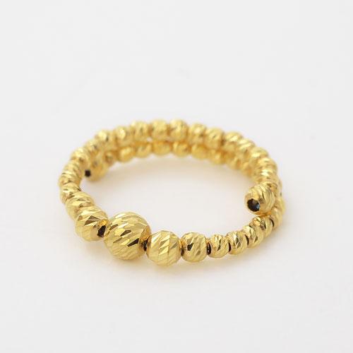 純金 K24 黄金 山吹色 ゴールド GOLD リング RING 指輪 フリーサイズ カット入り ボール 4393-JK20