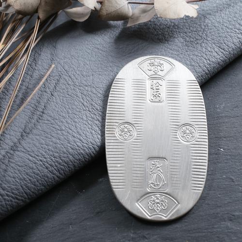 純銀製 999/1000 天保小判 お祝い 記念事  100g以上 日本製 4573-JK21