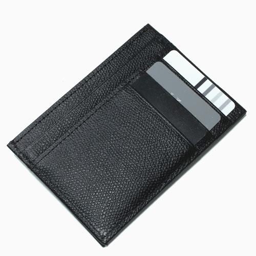 レザー カード入れ コインケース 小銭入れ  ブラック 4586-MZ21