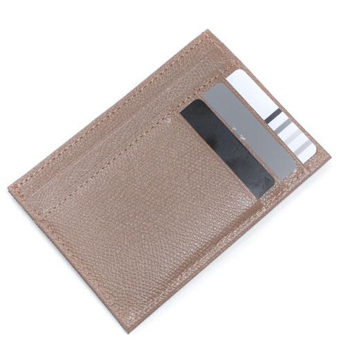 レザー カード入れ コインケース 小銭入れ  ベージュ 4587-MZ21