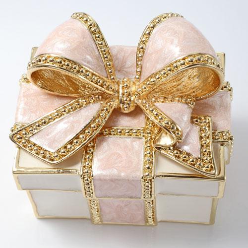 ミニジュエリーケース 宝石箱 ピンク リボン プレゼント 5011-JC15