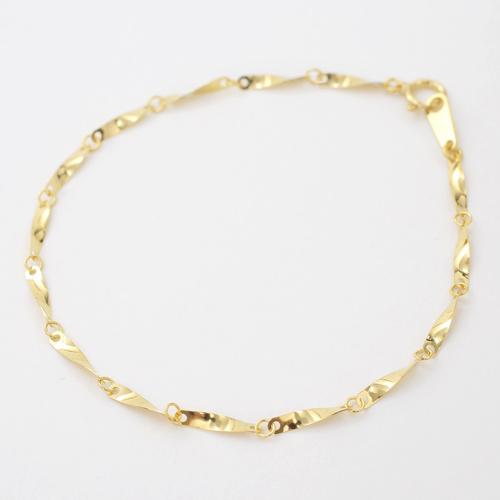 日本製 純金 24金 ブレスレット ジュエリー レディース ひねり 5452-NM17