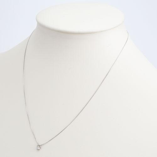 日本製 ベビーリング ペンダント 天然石 ダイヤモンド ベネチアンチェーン 5524-PG17