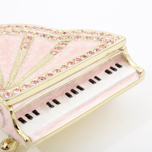 中国製 ジュエリーケース グランドピアノ 専用ケース付き アクセサリー入れ  5632-JC20