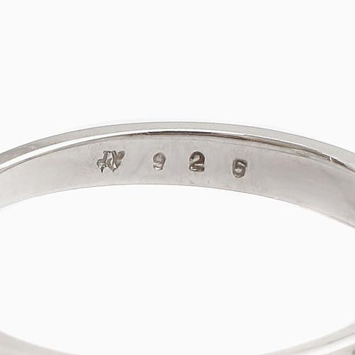 【祝7周年 福袋】 シルバー リング 2点セット シンプル デザイン  6022-XS21