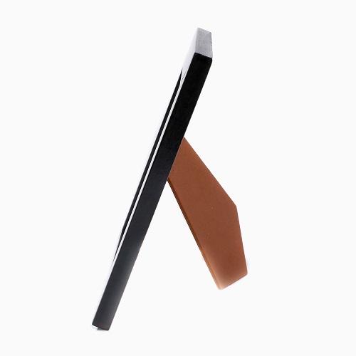 イタリア製 手作り 天然木製 ツイン 写真立て フォトフレーム (マラケシュ BLACK) 7768-NL21