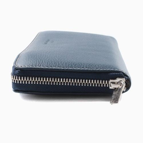 イタリア製 Sani Gualtiero レザー 長財布 ウォレット 男女兼用 ブルー 7789-SG21