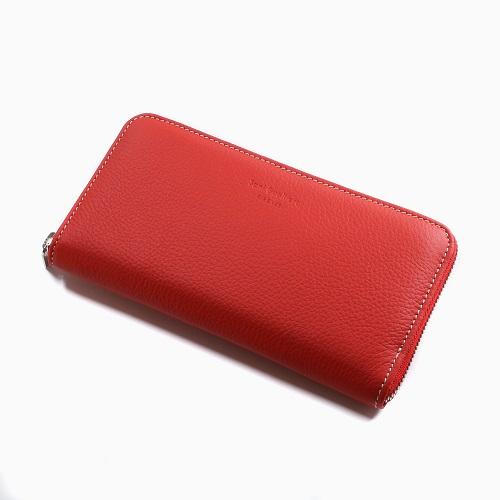 イタリア製 Sani Gualtiero レザー 長財布 ウォレット 男女兼用 レッド 7790-SG21