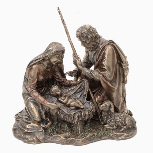 イタリア製 キリスト誕生像(Holly family) 7892-FG20
