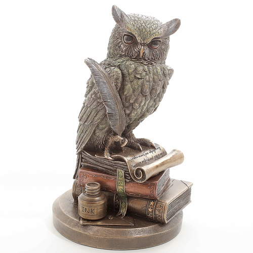 イタリア製 WISE OWL フクロウ像(賢者の梟像) 7894-FG20