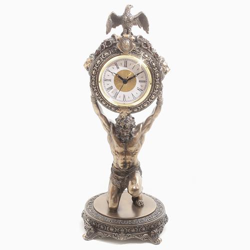 イタリア製 <Atras> アトラス 置き時計 インテリア 7895-FG20