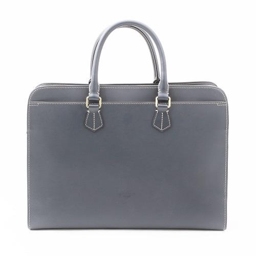 イタリア製 <BOLDRINI SELLERIA> レザーブ・ビジネス・バッグ/ブリーフケース(ネイビー) 7903-BR20