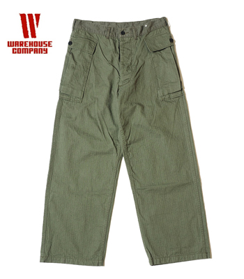 WAREHOUSE U.S.ARMY HERRINGBONE PANTS