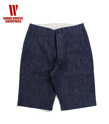 WAREHOUSE  DENIM CHINO SHORTS