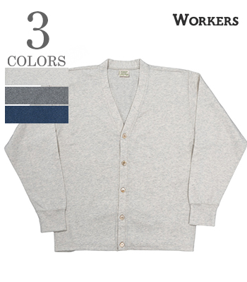 WORKERS FC High Gauge Knit, Cardigan
