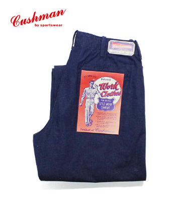 CUSHMAN 8oz DENIM TROUSERS