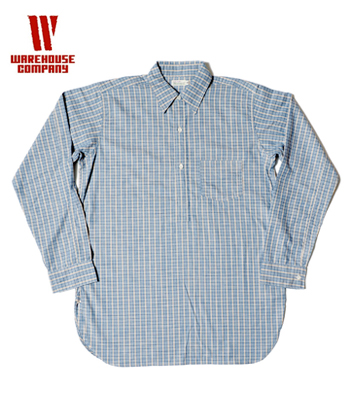 WAREHOUSE PULLOVER CHECK SHIRT
