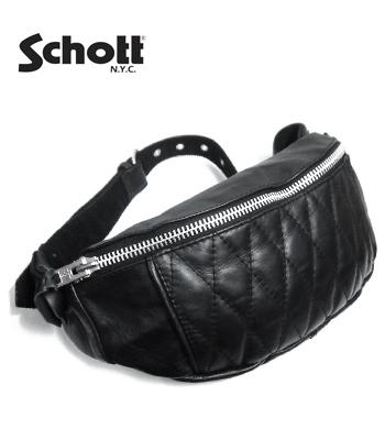Schott パデット ボディバッグ