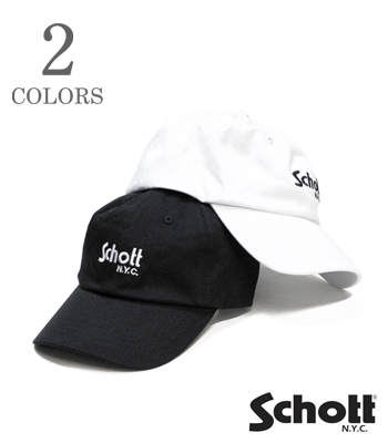 Schott COTTON TWILL CAP
