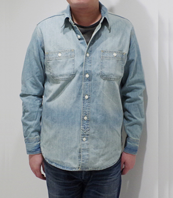 HOUSTON DENIM WORK SHIRT