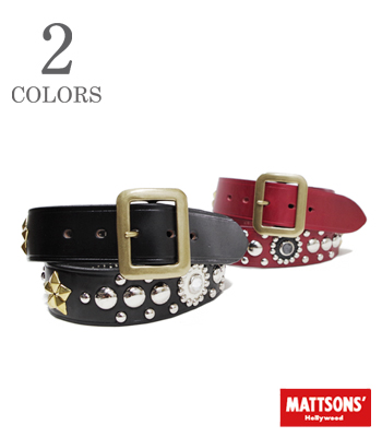Matsons' B.S MODEL STUDS BELT