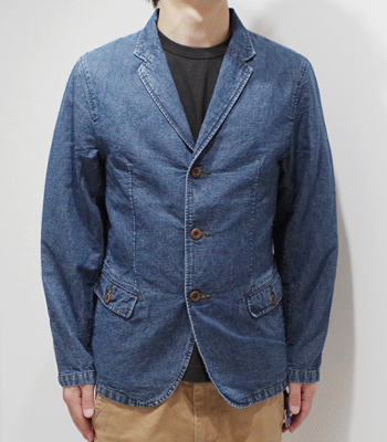 BEAR FOOT CHAMBRAY JACKET