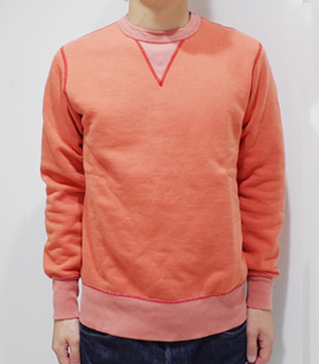 BARNS VINTAGE W V GADZET CREW NECK SWEAT