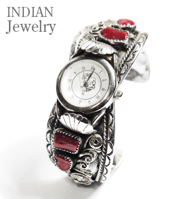 INDIAN JEWELRY CARAL WATCH