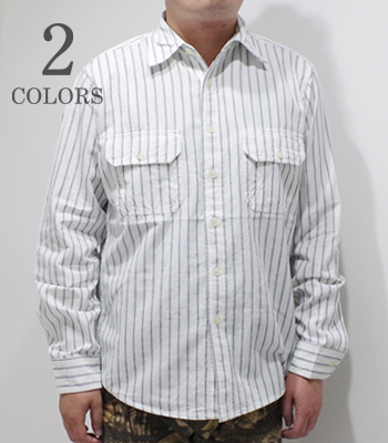 CAMCO RAILROAD STRIPE WORK SHIRT