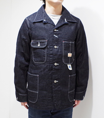 DRUM MAJOR BLUE DENIM WORK COAT