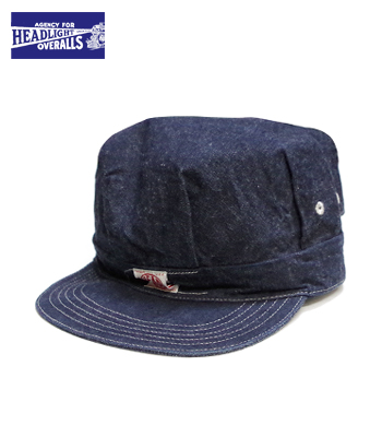 HEAD LIGHT 11oz. DENIM WORK CAP
