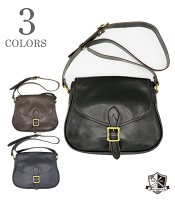 INCEPTION HORSEHIDE MAIL BAG Small