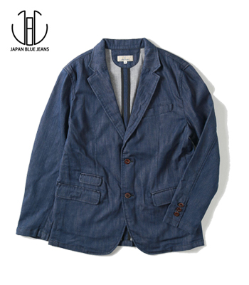JAPAN BLUE SHIN-DENIM TAILORED JACKET
