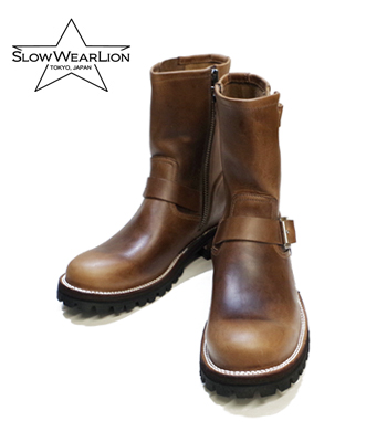 SLOW WEAR CHROMEXCEL LEATHER ENGINEER BOOTS