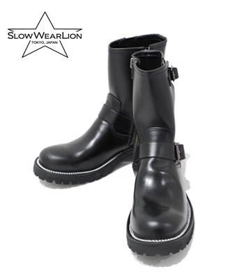 SLOW WEAR OILD LEATHER ENGINEER BOOTS