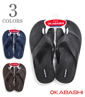 OKABASHI Surf Men's Flip Flop