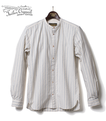 ORGUEIL Band Collar Shirt