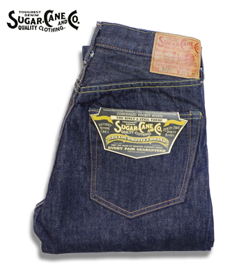 SUGAR CANE 14.25oz STANDARD DENIM 2021MODEL