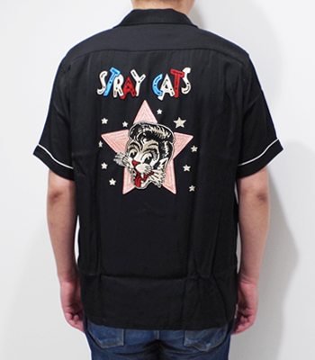 STYLE EYES STRAY CATS Bowling Shirt Limited Edition